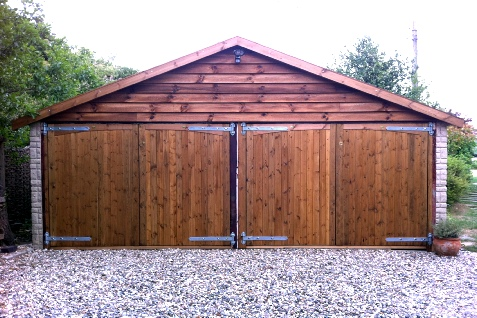 Hardwood Garage doors, Softwood Garage doors